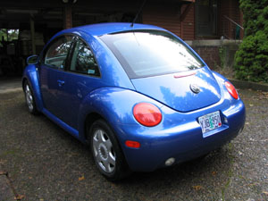 '01 Beetle repaired